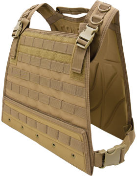 Compact Plate Carrier Tan M-XL Adjustable CPC