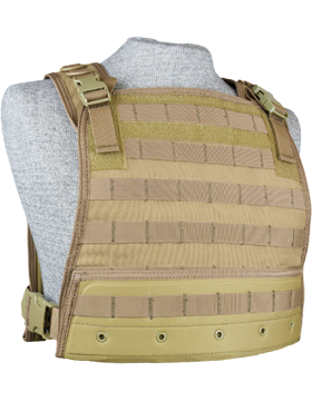 Compact Plate Carrier Tan M-XL Adjustable CPC small