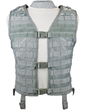 Mesh Hydration Vest ACU M-XL Adjustable MHV