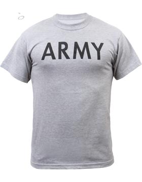 Army Gray PT T-Shirt A-PT-6080