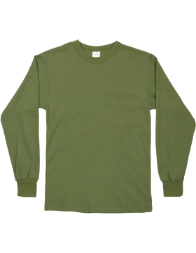 Thermal Knit Underwear Shirt, Olive Drab