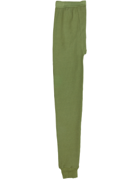 Thermal Knit Underwear Pants, Olive Drab