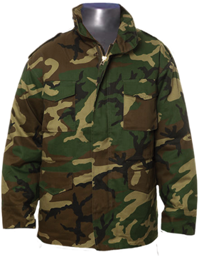 7993 UF M-65 FIELD JACKET WOODLAND -3X