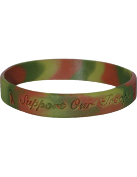 Camo Bracelet Support Our Troops, WB-02