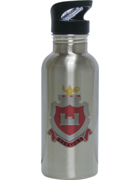 Water Bottle, Stainless Steel, Engineer School Crest