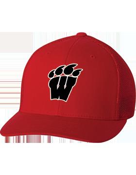 Weaver High School Red Flexfit Trucker Cap