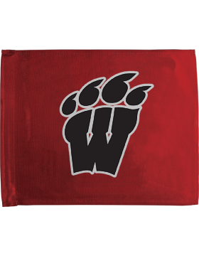 Weaver High School Red Car Flag