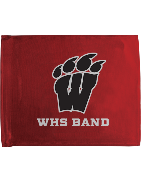 WHS Band Red Car Flag