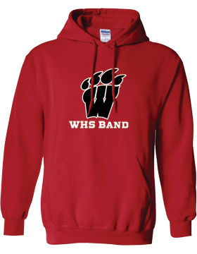 WHS Band Red Hoodie