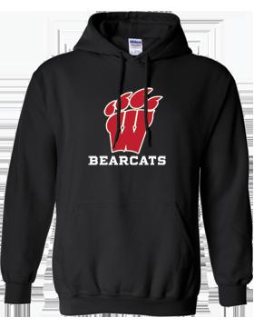 Weaver Bearcats Black Hoodie