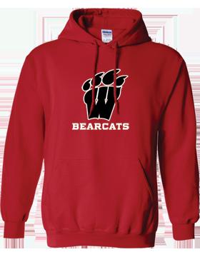 Weaver Bearcats Red Hoodie