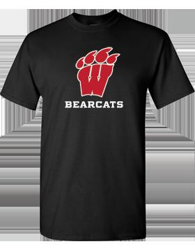 Weaver Bearcats Black T-Shirt G500