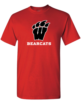 Weaver Bearcats Red T-Shirt G500