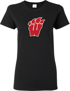 Weaver High School Black Ladies T-Shirt G500