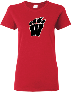 Weaver High School Red Ladies T-Shirt G500