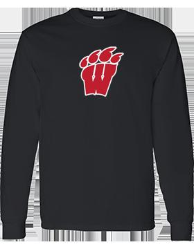 Weaver High School Long Sleeve Black T-Shirt G540