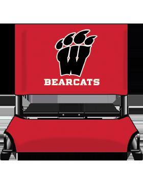 Weaver Bearcats Red Canvas Stadium Chair