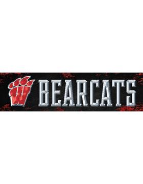 Weaver Bearcats Bumper Sticker 11in x 3in