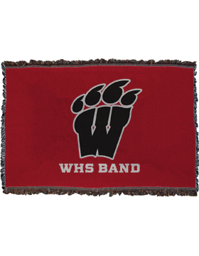 WHS Band Throw Blanket