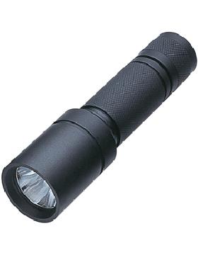 Tactical Flashlight Black Waterproof Button Switch Operation WEAP-CA/EL