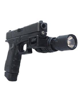 Flashlight Side Mount for Handguns 1 inch WEAP-M/PLG