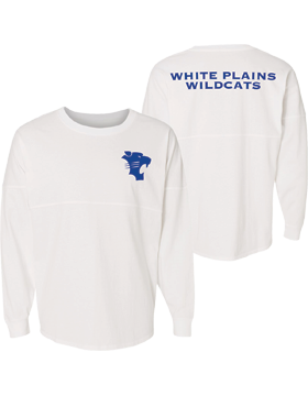 White Plains Wildcats J. America Game Day Long Sleeve Jersey 8229