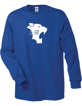 White Plains Wildcats Long Sleeve T-Shirt D61A