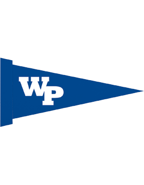 White Plains Wildcats Felt Pennant