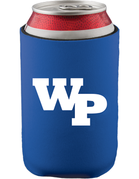 White Plains Wildcats Slip-On Collapsible Can Insulator