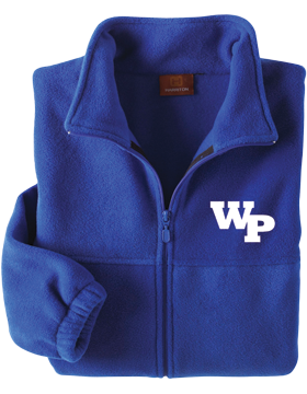 White Plains Wildcats Harriton Full-Zip Fleece small