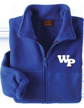 White Plains Wildcats Harriton Full-Zip Fleece