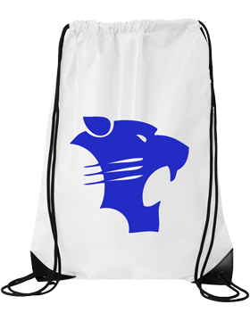 White Plains Wildcats Drawstring Pack