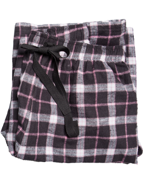 Flannel Pajama Youth Pant Y19 Black/Pink