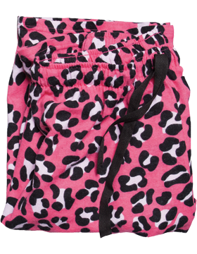 Flannel Pajama Youth Pant Y19 Fuchsia Leopard