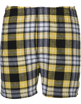 Flannel Youth Boxer Y48