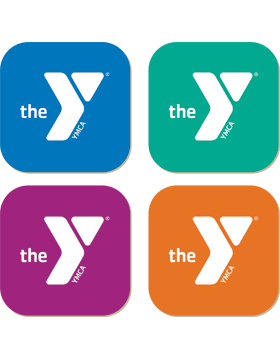 YMCA Hardboard Coaster Set of 4