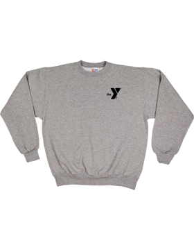YMCA Heavyweight Fleece Crew Sweatshirt S8021