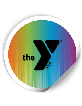 YMCA 2in Round Sticker The Y®