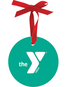YMCA Christmas Ornament Round
