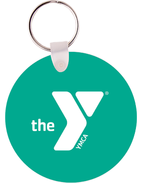 YMCA Key Tag Round