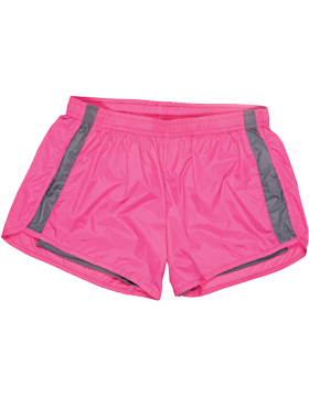 Endurance Youth Short YN64 Dark Fuchsia/Gray