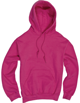 Essential Youth Hood YV34 Fuchsia