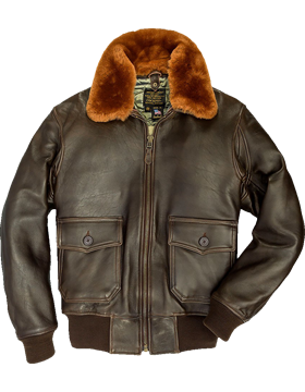 G-1 Flight Jacket with Removable Collar Z2108M