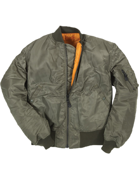 Authentic MA-1 Bomber Jacket Z24J011D small