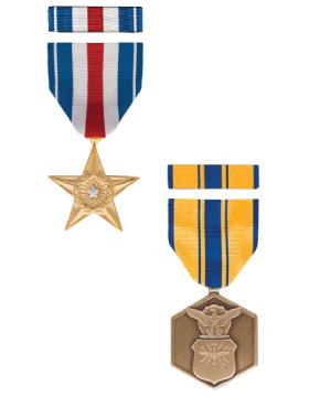 Full Size Medal and Ribbon Box Set