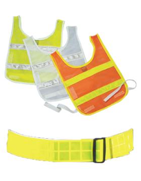 Reflective Vests and Belts