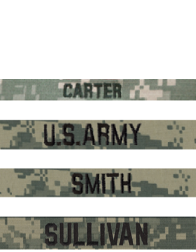 ACU Name Tapes