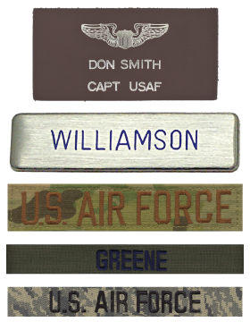 Name Tapes - Tags
