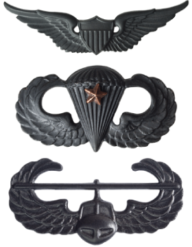 Black Metal Badges