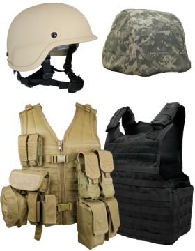 Ballistic Vests and Helmets